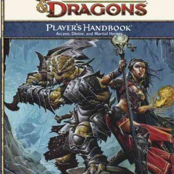 Player's Handbook: Arcane, Divine, and Martial Heroes: Roleplaying Game Core Rules (Dungeons & Dragons Core Rules)
