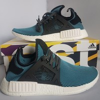 Adidas NMD_XR1 PRIMEKNIT BOOST CYAN BLUE *BRAND NEW* [S32212] UK 9 US 9.5