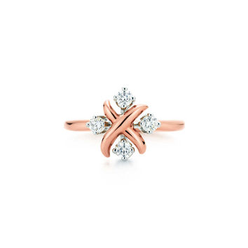 Tiffany & Co. - Tiffany & Co. Schlumberger® Lynn ring in 18k rose gold with diamonds.