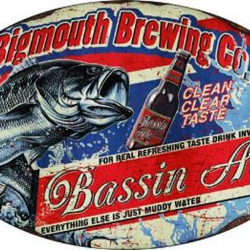 Tin Sign - Bassin Ale