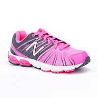 New Balance Girls' 890 V5 Running Shoes - Blue/Pink