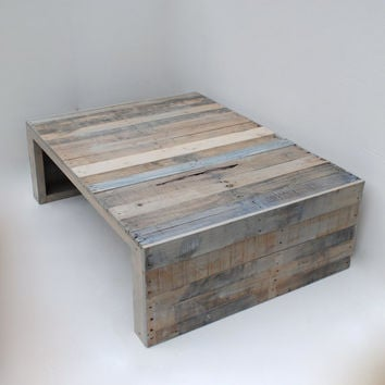 Modern Grey Pallet Coffee Table