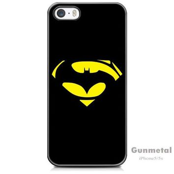 LMFUG3 Superman and Batman iPhone 5/5s Case - mobile phone cover