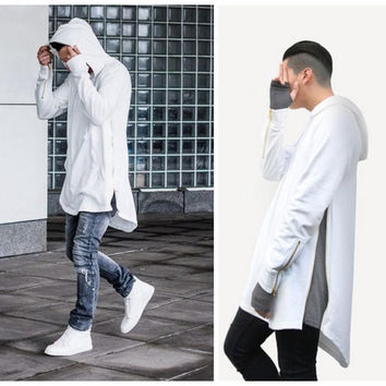 British Style Men Hoodies Hip Hop Streetwear