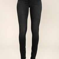 Hi There! Washed Black High-Waisted Skinny Jeans