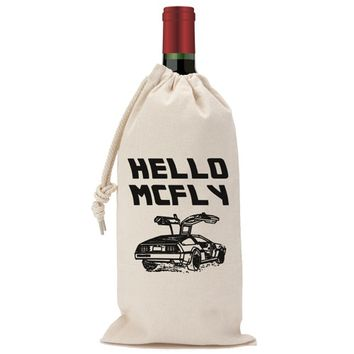 Hello McFly Wine Bag