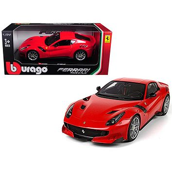 Ferrari F12 TDF Red 1:24 Diecast Model Car by Bburago