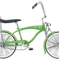 "20"" Lowrider W/ 140 spokes Bike Beach Bicycle Green"