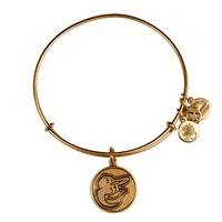 Alex and Ani Baltimore Orioles™ Cap Logo Charm Bangle - Russian Gold