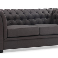 Nob Hill Sofa Charcoal Gray