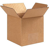 "10  Boxes 5""x5""x5"" Cardboard Corrugated Shipping Boxes Wholesale  supplies"