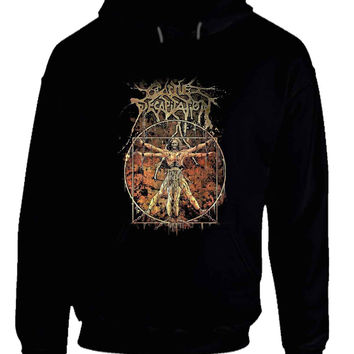 Cattle Decapitation Art Cover Hoodie