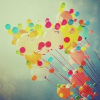 balloons, colorful, colors, photography - inspiring picture on Favim.com