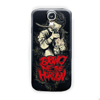 Bring Me The Horizon Metal Band Logo For Samsung Galaxy S4 Case