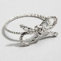 Forget Me Knot Ring | Kiel Mead Knot Ring | fredflare.com