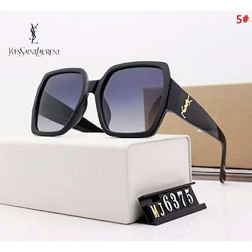 YSL Fashion New  Polarized Sun Protection Glasses Eyeglasses 5#