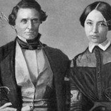 Jefferson Davis & His Wife