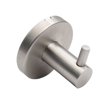 QT Deluxe Modern Single Coat Hook - Perfect for Towels/Robes/Clothes
