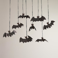 Meri Meri Eek! Bag of Bats Halloween Hanging Decor - World Market
