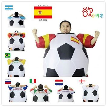 Soccer Inflatable Costume Football Halloween Party
