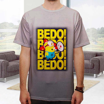 Custom shirt / BEDO! BEDO! Minion Carl  / man and woman tshirt