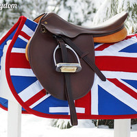 MADE TO ORDER Flag Saddle Pad Pick Your Country