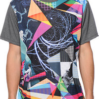 Imaginary Foundation Mashup Panel Sublimated Tee Shirt