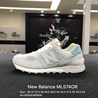 New Balance ML574OR Gray Sports Running Shoes Sneaker