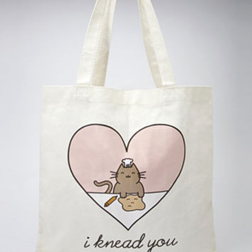 I Knead You Canvas Tote