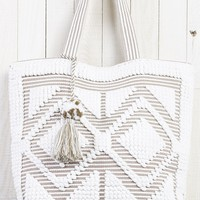 Stay Over Tote Bag - Taupe