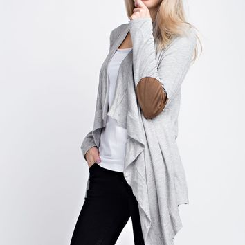 All For You Gray Cardigan