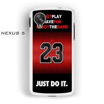 Michael Jordan NBA Chicago Bulls For Nexus 4/Nexus 5 Phone case ZG