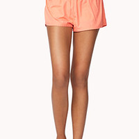 Contrast Neon Athletic Shorts