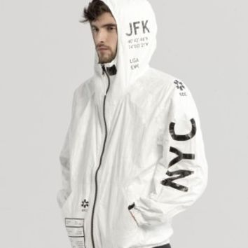 TYVEK NYC ZIP-UP