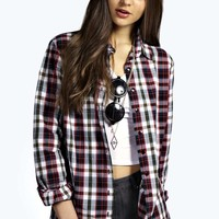 Katherine Oversized Checked Shirt