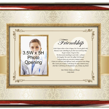 Poetry Picture Friendship Photo Frame