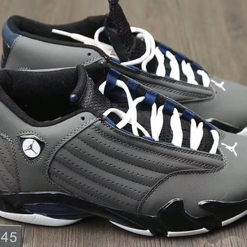 """Nike Air Jordan 14 XIV Retro"" Men Sport Running Casual Fashion Breathable Actual Combat Basketball Shoes Sneakers"