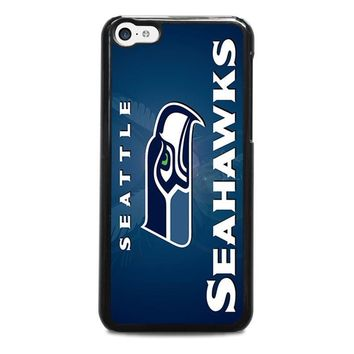 seattle seahawks iphone 5c case cover  number 1