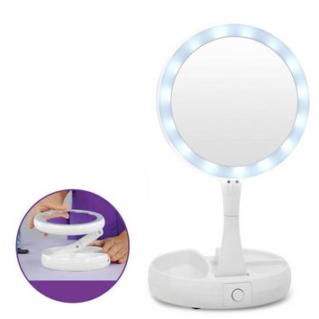 USB Lighted Vanity Mirror Touch Screen  Lamp