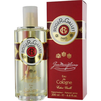 ROGER & GALLET JEAN MARIE FARINA by Roger & Gallet EXTRA VIEILLE EAU DE COLOGNE SPRAY 6.6 OZ