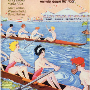 Row Row Row 11x17 Movie Poster (1928)