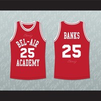 Fresh Prince Carlton Banks Bel-Air Academy Basketball Jersey