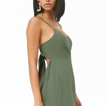 Tie-Back Skater Dress