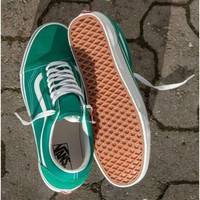 Vans Classics Old Skool Green Sneaker