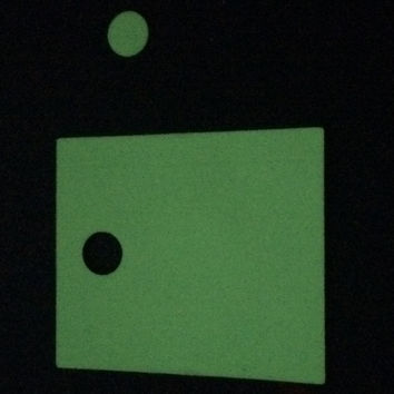 2-pack Glow in the dark Micro Vape skins