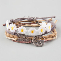 FULL TILT 5 Piece Arrow/Daisy/Feather/Tree Bracelets | Bracelets
