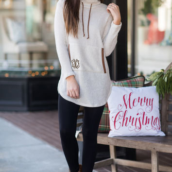 For The Love Of Lounging Tunic, Taupe