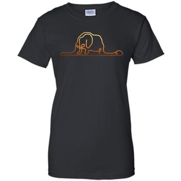 Attractive Hat Elephant Little Prince 2017 T Shirt