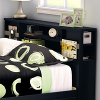South Shore SoHo Full Bookcase Headboard, Multiple Finishes - Walmart.com