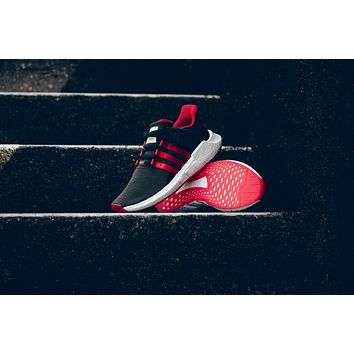 AA HCXX Adidas EQT Support 93/17 'YUANXIAO' - Carbon Black/Scarlet